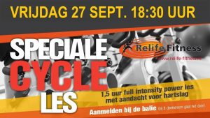 Relife Fitness - Speciale Cycle Les SEPT 2019 TV