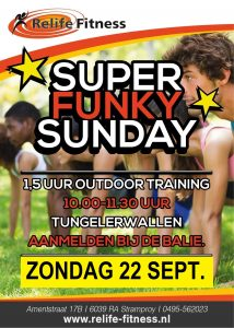 Relife Fitness - Super Funky Sunday SEPT. 2019