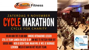 Relife Fitness - Cycle Marathon SEPT2019-TV