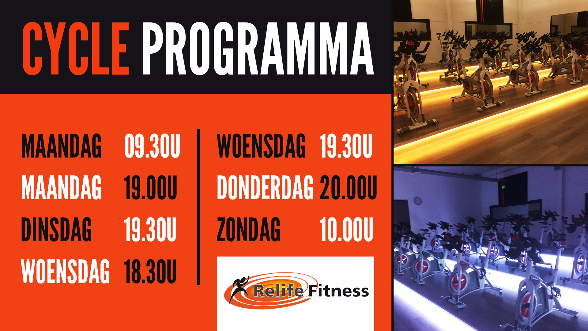 Relife Fitness - Cycle Programma OKT2020-TV